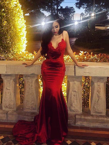 products/Dark_Red_Lace_Applique_Jersey_Spaghetti_Strap_Mermaid_Prom_Dresses_PD00217-1.jpg