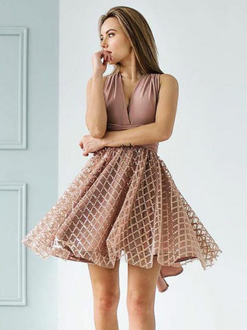 products/Dusty_Pink_Jersey_Convertible_Top_Sequined_Plaid_Skirt_Homecoming_Dresses_HD0053-1.jpg