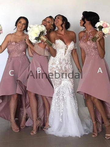 products/Dusty_Pink_Lace_Mismatched_High_Low_Fashion_Bridesmaid_Dresses_AB4035-1.jpg