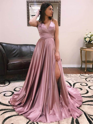 products/Dusty_Rose_Elastic_Satin_Spaghetti_Strap_Lace_Up_Back_With_Slit_Prom_Dresses_PD00374-1.jpg
