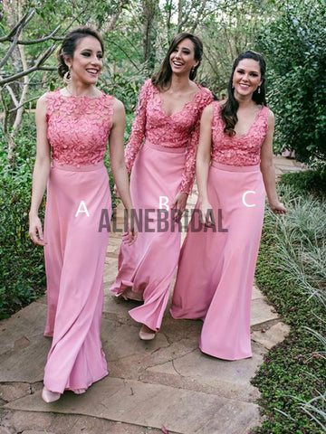 products/Dusty_Rose_Lace_Jersey_Mismatched_Sheath_Bridesmaid_Dresses_AB4015-1.jpg