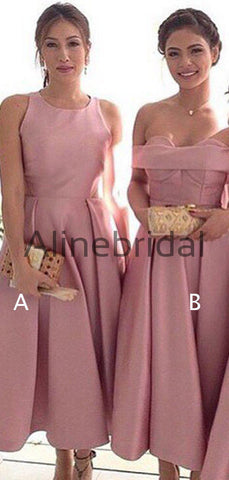 products/Dusty_Rose_Satin_Mismatched_Tea_Length_Elegant_Bridesmaid_Dresses_AB4071-2.jpg