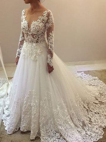 products/Elegant_Beading_Lace_Long_Sleeve_Ball_Gown_Wedding_Dresses_AB1505-1.jpg