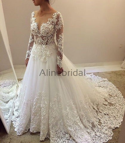 products/Elegant_Beading_Lace_Long_Sleeve_Ball_Gown_Wedding_Dresses_AB1505.jpg