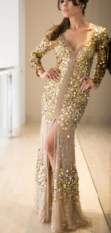 products/Fashion_Gold_Sequin_Long_Sleeve_See_Through_Back_Long_Prom_Dresses_PD00299-2.jpg