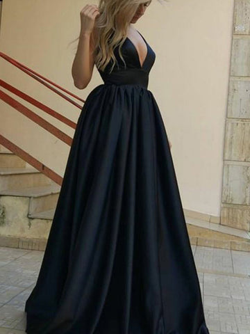 products/Formal_Black_Satin_V-neck_Sleeveless_A-line_Lace_Up_Back_Charming_Prom_Dresses_PD00079-1.jpg
