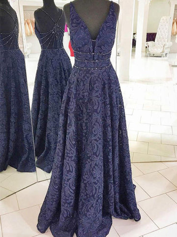 products/Gorgeous_Navy_Lace_Sleeveless_Beaded_Strap_Back_A-line_Prom_Dresses_PD00077-1.jpg