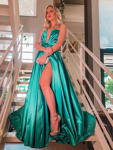 products/Green_Satin_Strapless_Slit_Cheap_Fashion_Prom_Dresses_PD00266-1.jpg