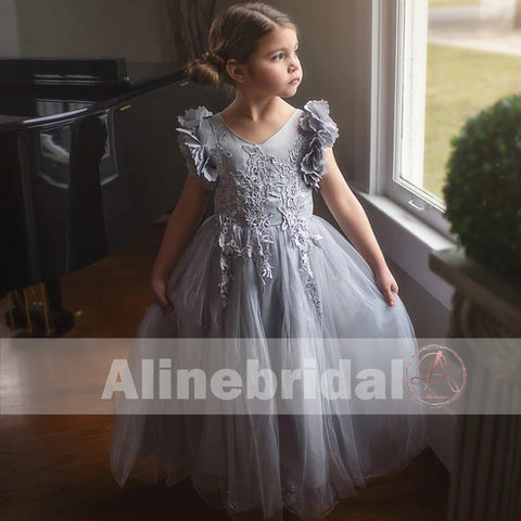 products/Grey_Appliques_Tulle_Pretty_Sleeveless_Long_Flower_Girl_Dresses_FGS071-1.jpg