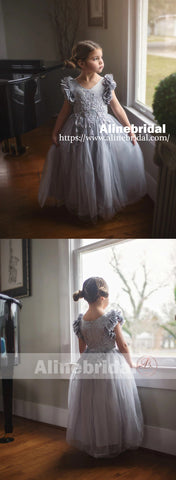 products/Grey_Appliques_Tulle_Pretty_Sleeveless_Long_Flower_Girl_Dresses_FGS071-2.jpg