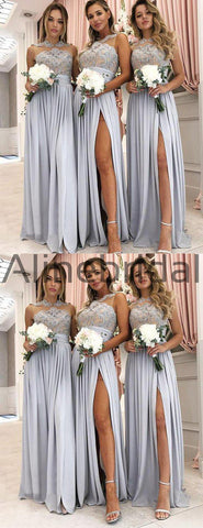 products/Grey_Jersey_Lace_Illusion_High_Neck_Silt_Long_Bridesmaid_Dresses_AB4074-3.jpg