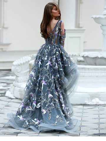 products/Grey_Unique_Applique_Illusion_High_Low_Long_Sleeve_Prom_Dresses_PD00172-1.jpg