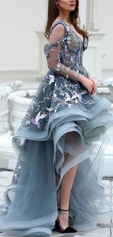 products/Grey_Unique_Applique_Illusion_High_Low_Long_Sleeve_Prom_Dresses_PD00172-2.jpg
