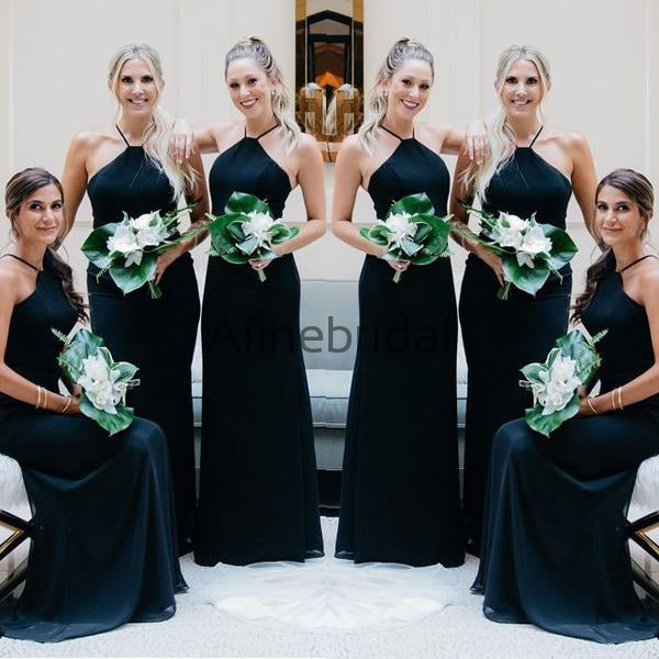 66cf4a1f546 FEATURED PRODUCTS. Your product s name.  200.00. Halter Dark Navy Blue  Chiffon Elegant Long Sheath Bridesmaid Dresses ...