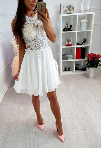 products/Ivory_Lace_Beaded_Spaghetti_Strap_Criss-cross_Chiffon_Freshman_Homecoming_Dresses_BD00112-5.jpg
