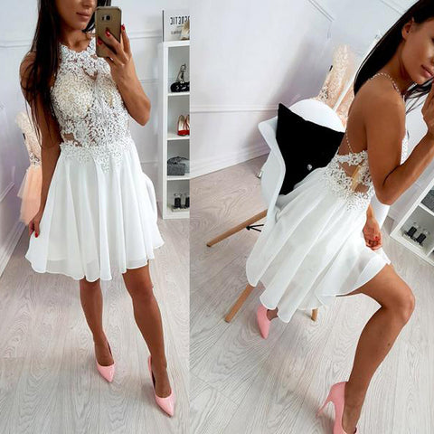 products/Ivory_Lace_Beaded_Spaghetti_Strap_Criss-cross_Chiffon_Freshman_Homecoming_Dresses_BD00112.jpg