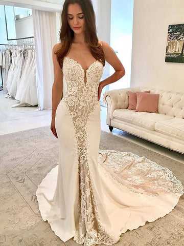 products/Ivory_Satin_Gorgeous_Lace_Spaghetti_Strap_With_Nude_Lining_Vintage_Wedding_Dresses_AB1558-1.jpg