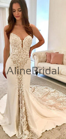 products/Ivory_Satin_Gorgeous_Lace_Spaghetti_Strap_With_Nude_Lining_Vintage_Wedding_Dresses_AB1558-2.jpg