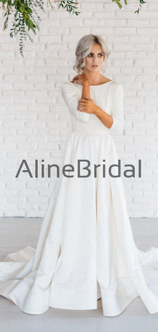 products/Ivory_Satin_Long_Sleeve_Scoop_Back_A-line_Wedding_Dresses_AB1548-2.jpg