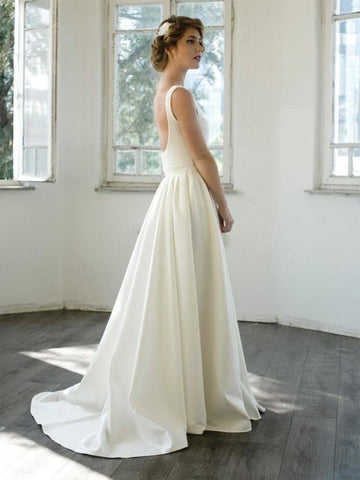 products/Ivory_Satin_V-neck_Scoop_Back_A-line_Simple_Wedding_Dresses_AB1557-1.jpg