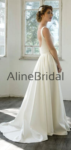 products/Ivory_Satin_V-neck_Scoop_Back_A-line_Simple_Wedding_Dresses_AB1557-2.jpg