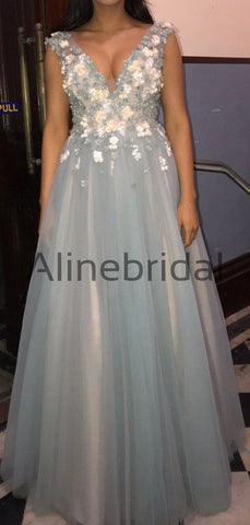 products/Light_Blue_Tulle_Handmade_Flower_Aplique_Country_Wedding_Bridesmaid_Dresses_AB4078-2.jpg
