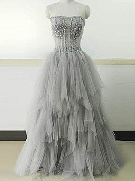 e2858a6aeb FEATURED PRODUCTS. Your product s name.  200.00. Light Gray Strapless Unique  Vintage Formal Ball Gown ...