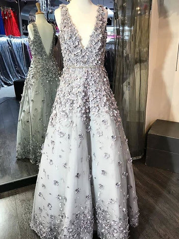 products/Light_Grey_Handmade_Flowers_V-neck_V-back_With_Beaded_Sash_Prom_Dresses_PD00068-1.jpg