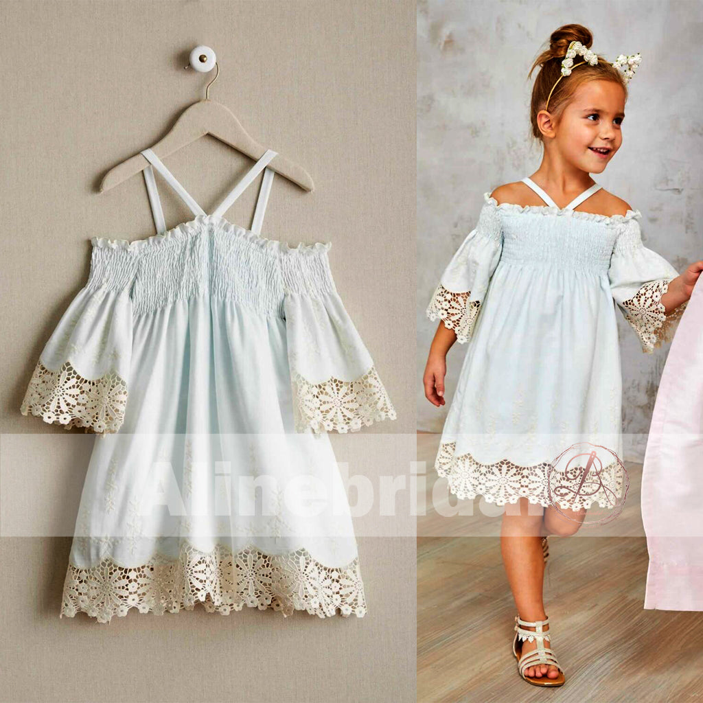 294d50b8896c FEATURED PRODUCTS. Your product s name.  200.00. Light Tiffany Blue Unique  Fashion Off Shoulder Half Sleeve Flower Girl Dresses