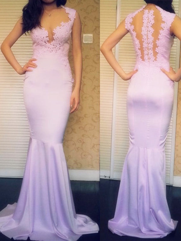 Long Custom Lilac Newest Formal Pretty Evening Party Prom Dress,PD0044