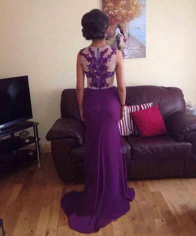 products/Long_Custom_Purple_High_Neck_Mermaid_Stunning_Cocktail_Evening_Party_Prom_Dresses_Online_PD0177-1.jpg