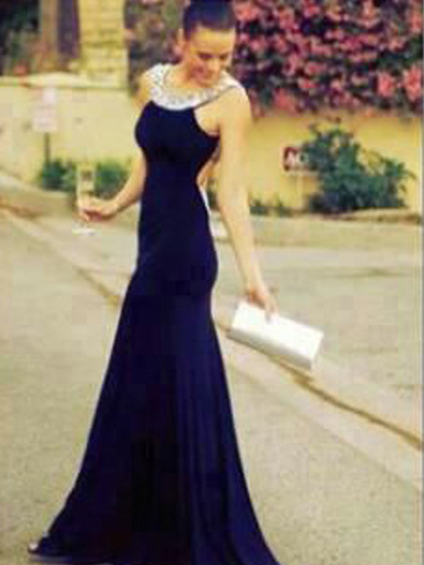 Long Scoop  Charming Backless Formal Cocktail Prom Dress,PD0139