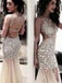 Long Sexy Sparkly Rhinestone Backless Unique Design Mermaid Pretty Evening Party Prom Dresses,PD0102