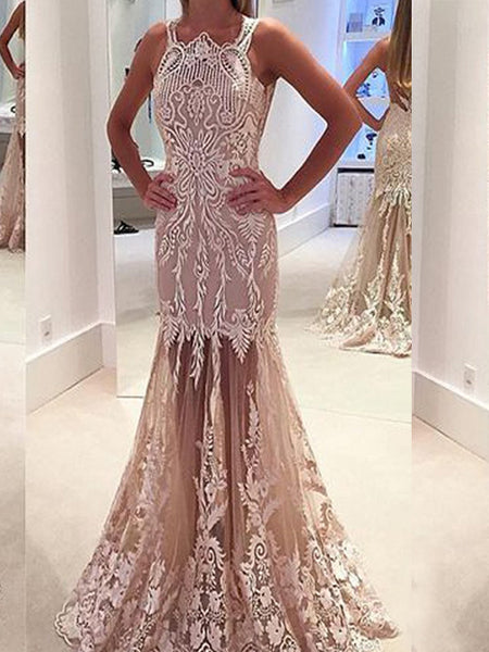 8182235dc1 FEATURED PRODUCTS. Your product s name.  200.00. Long Vintage Lace See  Through Sleeveless Unique Mermaid Prom Dresses.