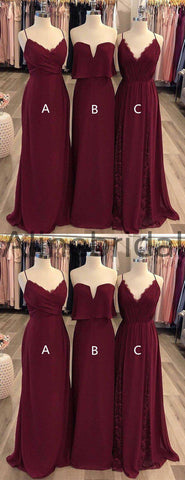 products/Maroon_Chiffon_Mismatched_Simple_Long_Bridesmaid_Dresses_AB4117-2.jpg