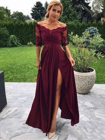 products/Maroon_Off_Shoulder_Half_Sleeve_Lace_Long_Prom_Dresses_PD00284-1.jpg