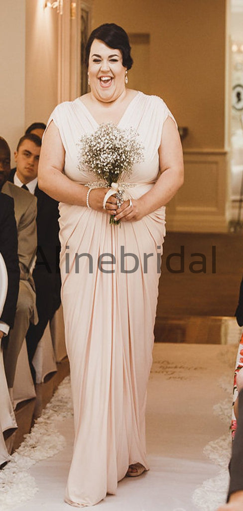 Mismatched Popular Elegant Modest Long Bridesmaid Dresses AB4209