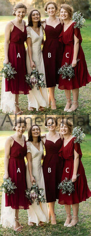 products/Mismatched_Burgundy_Chiffon_Knee_Length_Bridesmaid_Dresses_AB4115-2.jpg