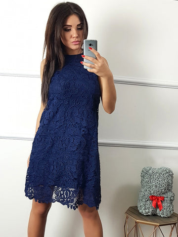 products/Navy_Blue_Lace_Halter_Sheath_Knee_Length_Homecoming_Dresses_HD0060-1.jpg