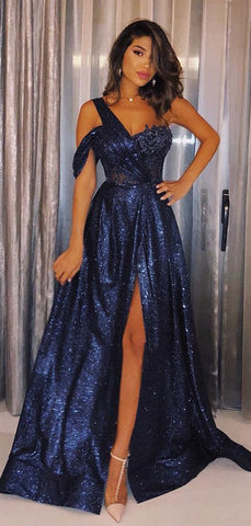 products/Navy_Sequin_One_Shoulder_A-line_Shiny_Long_Prom_Dresses_PD00341-2.jpg