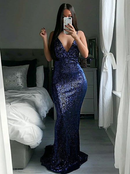 FEATURED PRODUCTS. Your product s name.  200.00. Navy Sequin Spaghetti Strap  Mermaid Prom Dresses ... e05f3e418