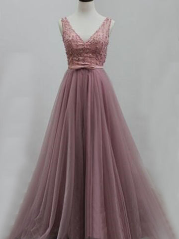 products/New_Arrival_Tulle_V-Back_Aline_Discount_Evening_Party_Prom_Dresses_Online_PD0173.jpg