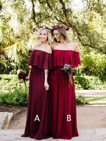 products/Off_Shoulder_Burgundy_Chiffon_Boho_Wedding_Bridesmaid_Dresses_AB4084-1.jpg