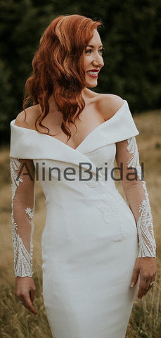 products/Off_Shoulder_Illusion_Long_Sleeve_Beading_Lace_Satin_Mermaid_Wedding_Dresses_AB1571-2.jpg