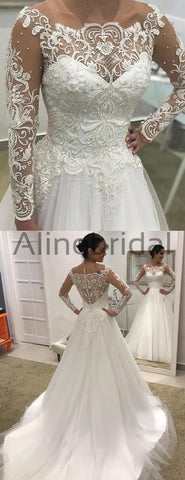 products/Off_Shoulder_Long_Sleeve_Lace_Tulle_Ball_Gown_Wedding_Dresses_AB1507-2.jpg