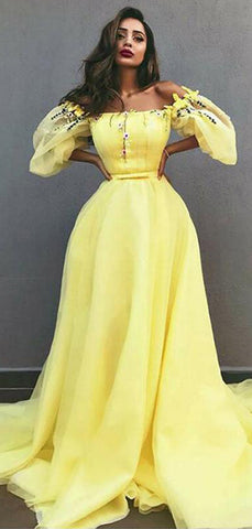 products/Off_Shoulder_Yellow_Tulle_Applique_Unique_Fashion_Prom_Dresses_PD00368-2.jpg