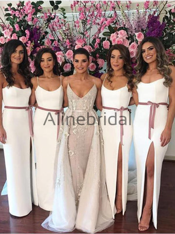 products/Off_White_Spaghetti_Strap_Slit_Sheath_Rose_Ribbon_Bridesmaid_Dresses_AB4058-1.jpg