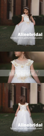 products/Off_White_Tulle_Ivory_Applique_With_Beads_Cap_Sleeve_Long_Flower_Girl_Dresses_FGS089-2.jpg