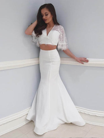 products/Off_White_Two_Piece_Lace_Mermaid_Boho_Half_Sleeve_Wedding_Dresses_AB1535-1.jpg