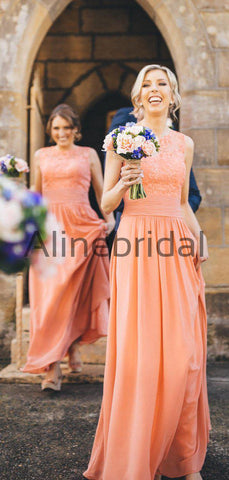 products/Orange_Chiffon_Lace_Round_Neck_Sleeveless_A-line_Bridesmaid_Dresses_AB4110-2.jpg